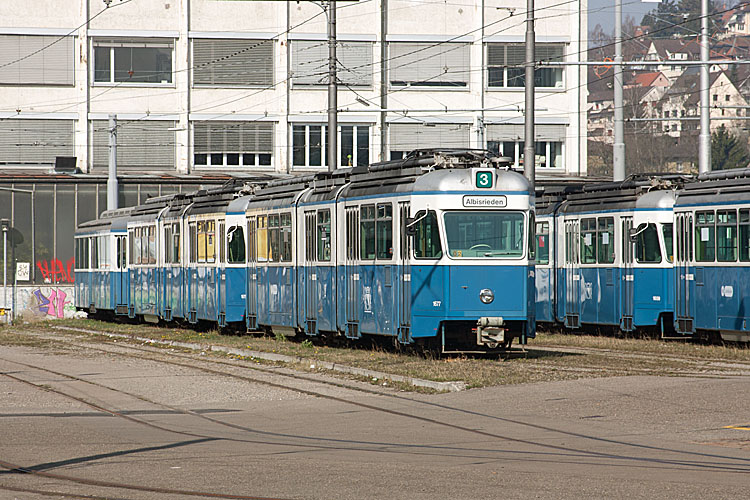 Urlaubsfotos teil 12 z rich stra enbahn for Depot regensburg